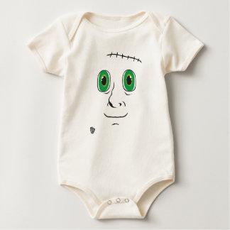 Body Para Bebé Monstruo hecho en casa