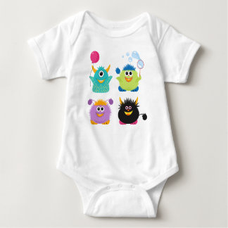 Body Para Bebé Monstruos del dibujo animado
