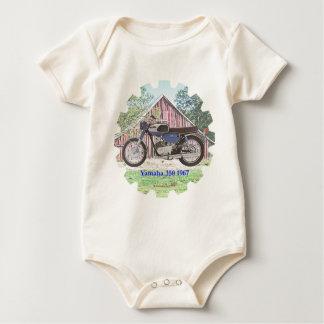 Body Para Bebé Motocicleta Yamaha de 1967 obras clásicas