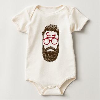 Body Para Bebé Motorista del inconformista