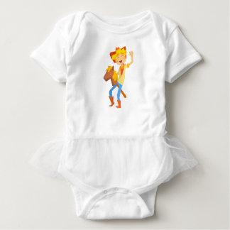 Body Para Bebé Muchacho en cabeza de caballo del juguete del