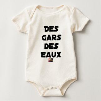 Body Para Bebé Muchachos de las Aguas - Juegos de palabras -
