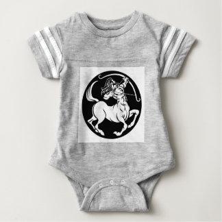 Body Para Bebé Muestra del zodiaco del sagitario del Centaur
