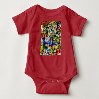 Body Para Bebé Mujeres abstractas de la roca