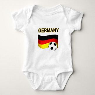 Body Para Bebé mundial 2010 del fútbol del fútbol de Alemania