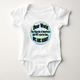 Body Para Bebé mundo sorry2