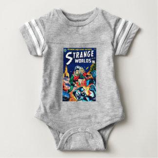 Body Para Bebé Mundos extraños -- Robots enojados