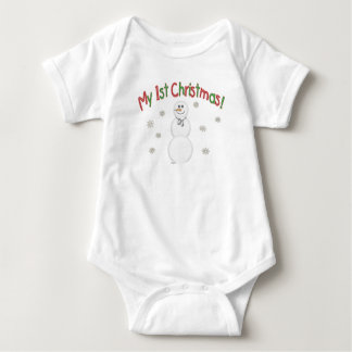 Body Para Bebé Muñeco de nieve del navidad de los Ist