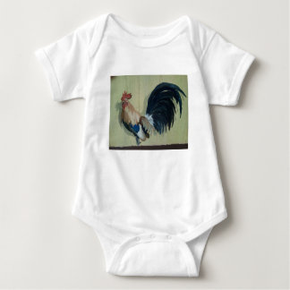 Body Para Bebé Mural del gallo del cuarto de niños