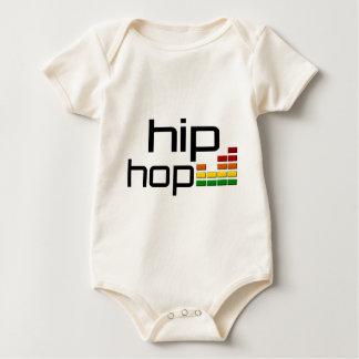 Body Para Bebé Música de Hip Hop con el equalizador estéreo