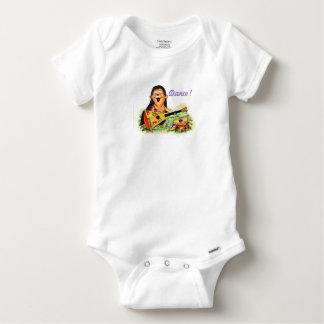 Body Para Bebé Músico del erizo