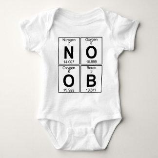 Body Para Bebé N-O-O-B (noob) - Por completo