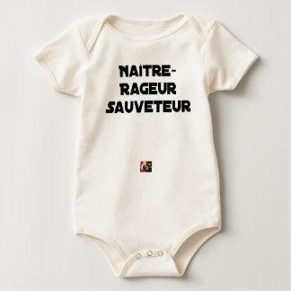 Body Para Bebé NACER RABIOSO SALVADOR - Juegos de palabras