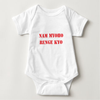 Body Para Bebé Nam Myoho Renge Kyo