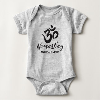 Body Para Bebé Namast'ay despierta toda la noche