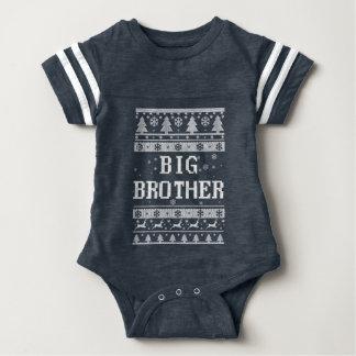 Body Para Bebé Navidad feo mayor de hermano