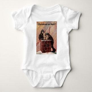 Body Para Bebé Navidad o busto, foto de la antigüedad del barrido
