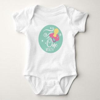 Body Para Bebé Niña del jalón de 1 mes