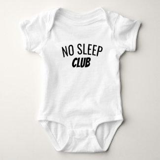 Body Para Bebé Ningún mono del bebé del club el | del sueño
