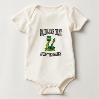 Body Para Bebé Ningunas serpientes con JC