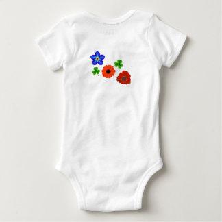 Body Para Bebé Niño de flor
