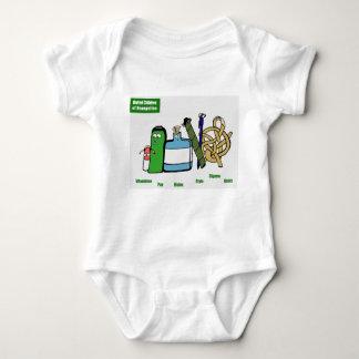 Body Para Bebé Niños unidos del engranaje del bebé de Brangelina