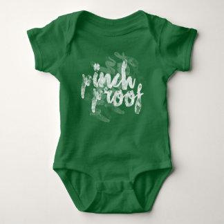 Body Para Bebé Niños y bebé del día de St Patrick de la prueba
