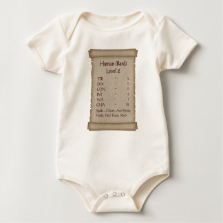 Body Para Bebé Nivel humano 2 del bardo
