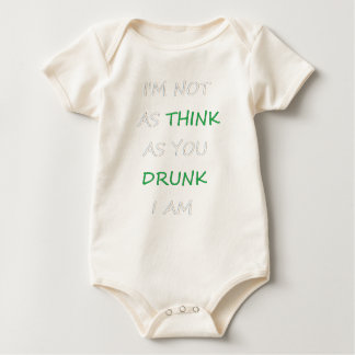 Body Para Bebé No según lo bebido