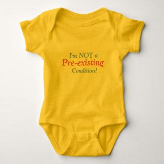 Body Para Bebé ¡No soy una condición pre existente!