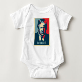 Body Para Bebé nope de Donald Trump