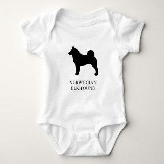 Body Para Bebé Noruego Elkhound