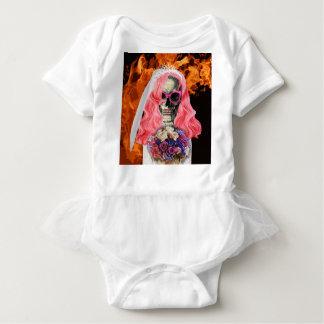 Body Para Bebé Novia del infierno