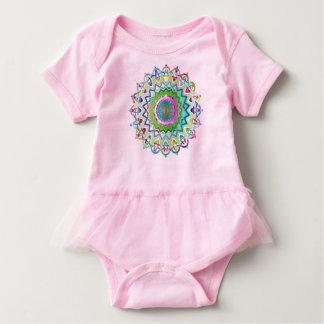 Body Para Bebé Nudos célticos prismáticos coloridos