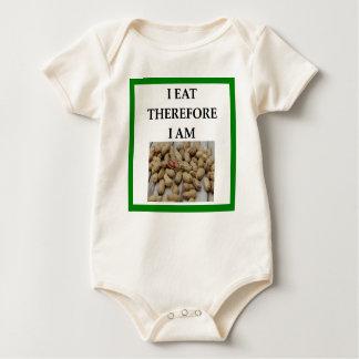 Body Para Bebé nueces