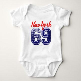 Body Para Bebé Nueva York 69 deportes de los E.E.U.U. por VIMAGO