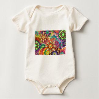Body Para Bebé Nuevo fondo abstracto colorido