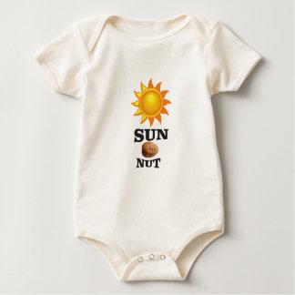 Body Para Bebé nuez del sol sí