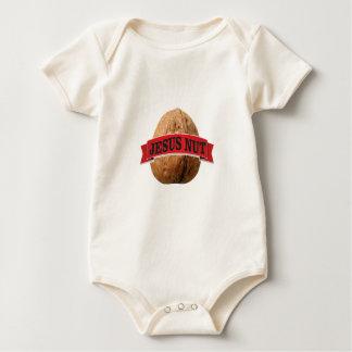 Body Para Bebé nuez roja de Jesús