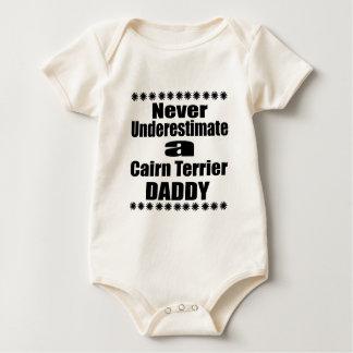 Body Para Bebé Nunca subestime al papá de Terrier de mojón