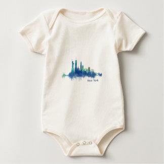 Body Para Bebé NYC New York Skyline v5