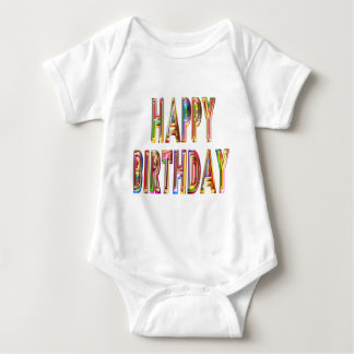 Body Para Bebé ocasión del fiesta de la celebración del feliz