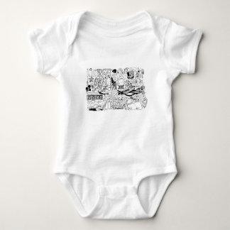 Body Para Bebé Oculto y mágico