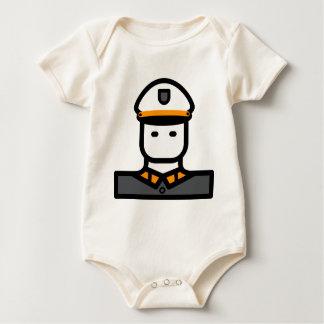 Body Para Bebé Oficial del ejército