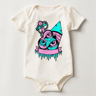 Body Para Bebé ojo vampiro fun