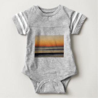 Body Para Bebé Ondas en usted horizonte