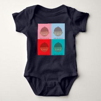 Body Para Bebé onsie del muchacho de las chee-heces-xvr'sh -