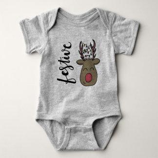 Body Para Bebé Onsie festivo