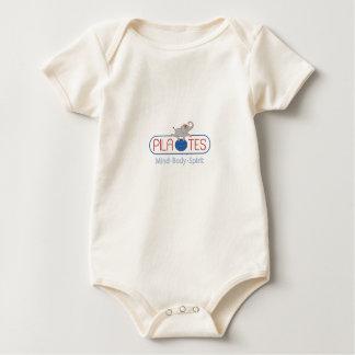 Body Para Bebé Orgánico infantil/enredadera de Pila-tes