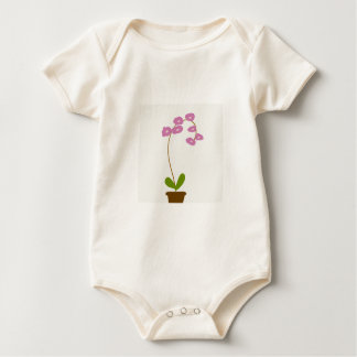 Body Para Bebé orquídeas